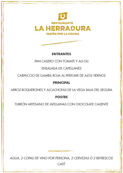 cartamenulaherradura