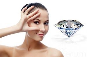 Rejuvenecimiento facial con punta de diamante