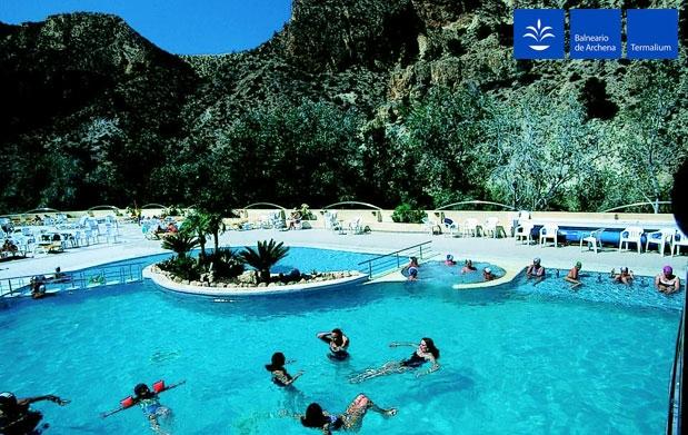 Balneario archena piscinas adulto ni o por 12 for Oferta construccion de piscinas