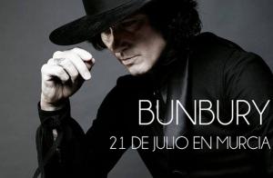 Enrique Bunbury en Murcia (21 de julio)