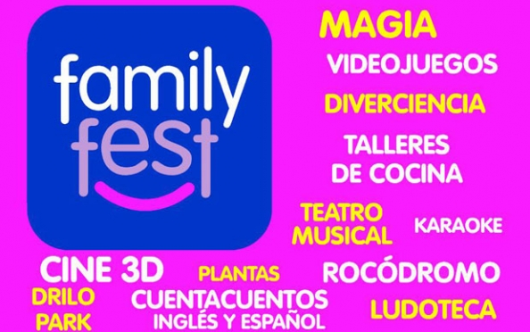 Family Fest: el mejor plan familiar