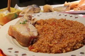 Menú de Caldero para 2 en La Manga