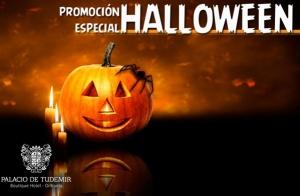 Cena, espectáculo y alojamiento Halloween