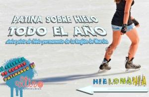 Patina sobre hielo en Murcia: 2, 4 o 6 personas