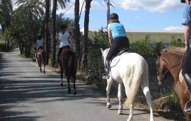 levas amigo paseo cerca de Murcia