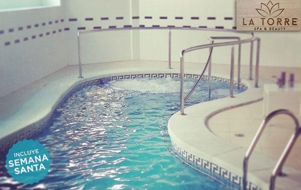 Spa m s masaje completo en la torre spa por 22 oferta for Oferta salon completo