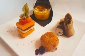 Menú gourmet en Mar de Cañas