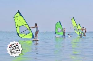 Iniciación al Windsurf 2 horas mayores y niños