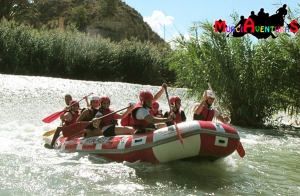 Rafting río Segura: 14 km de adrenalina