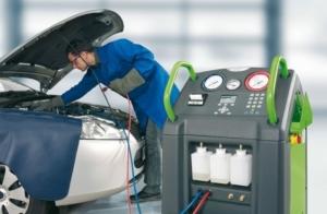 Recarga y filtro de A/A Para tu coche