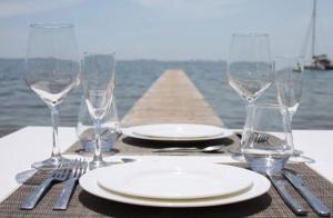 Exclusivo menú Thai frente al mar