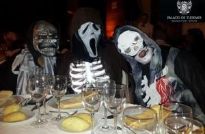 Cena y fiesta Halloween en Tudemir