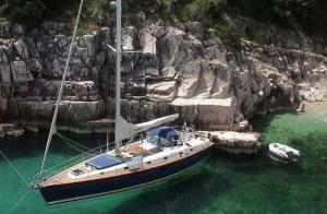 Paseo en velero de 15 metros en La Manga