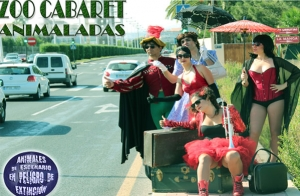 Espectáculo burlesque 'Zoo Cabaret'